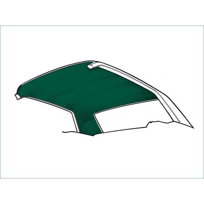 HL-FM-FB-71-DG - Scott Drake Fastback Headliner (Dark Green) Image