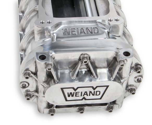 77-174FSBP-1 - Weiand 174 Powercharger Kit - Polished - additional Image