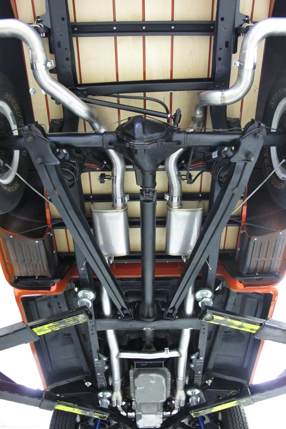 BH13199 - Hooker BlackHeart Header Back Exhaust System - additional Image