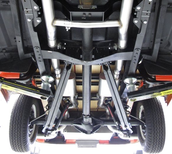 BH13193 - Hooker BlackHeart Header Back Exhaust System - additional Image