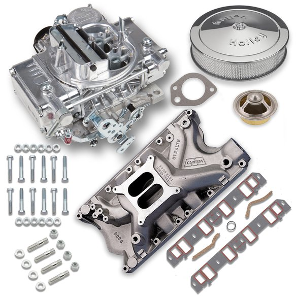 VK060016 - 600 CFM Street Warrior Carburetor and Ford 351W Intake Manifold Combo Image