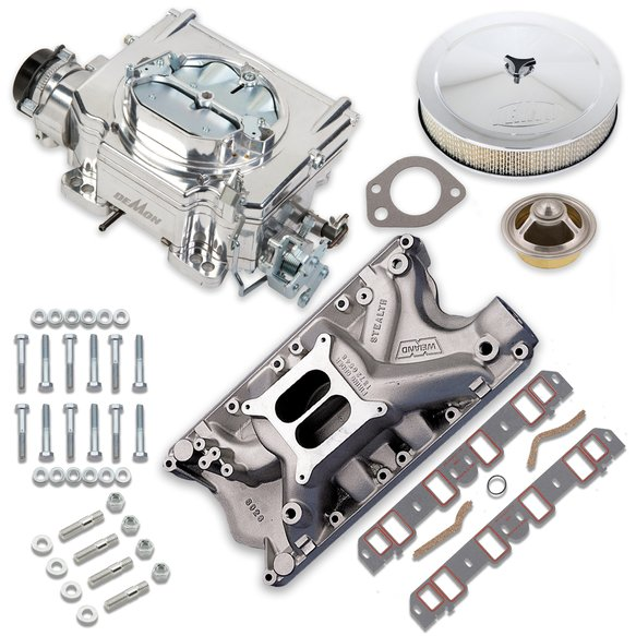 VK060071 - 750 CFM Street Demon Carburetor and Ford 351W Manifold Combo Image
