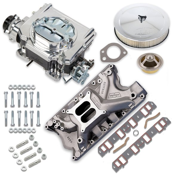 VK060022 - 625 CFM Street Demon Carburetor and Ford 351W Manifold Combo Image
