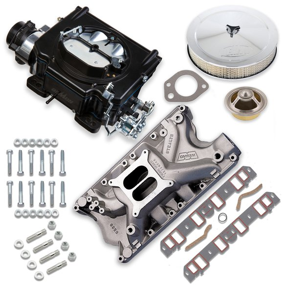 VK060073 - 750 CFM Street Demon Carburetor and Ford 351W Manifold Combo Image