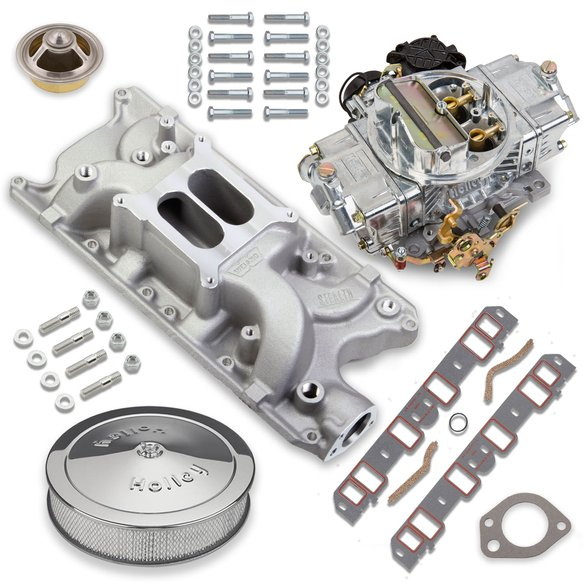VK060026 - 670 CFM Street Avenger Carburetor and Small Block Ford Manifold Combo Image