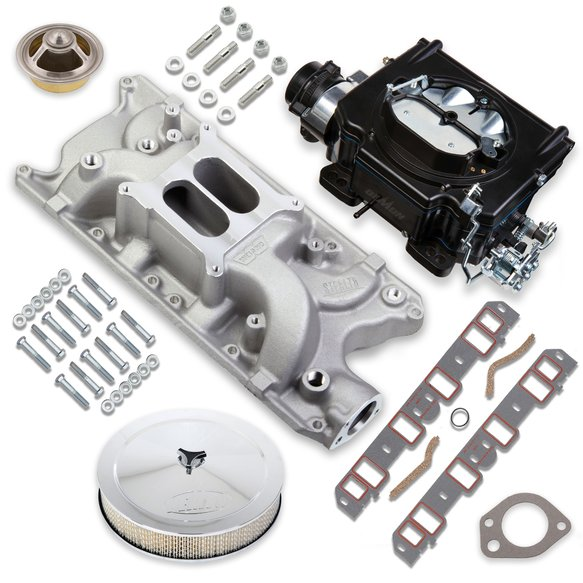 VK060085 - 750 CFM Street Demon Carburetor and Small Block Ford Manifold Combo Image