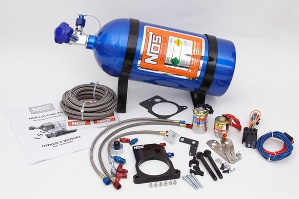 05168NOS - NOS Plate Wet Nitrous System - GM Image