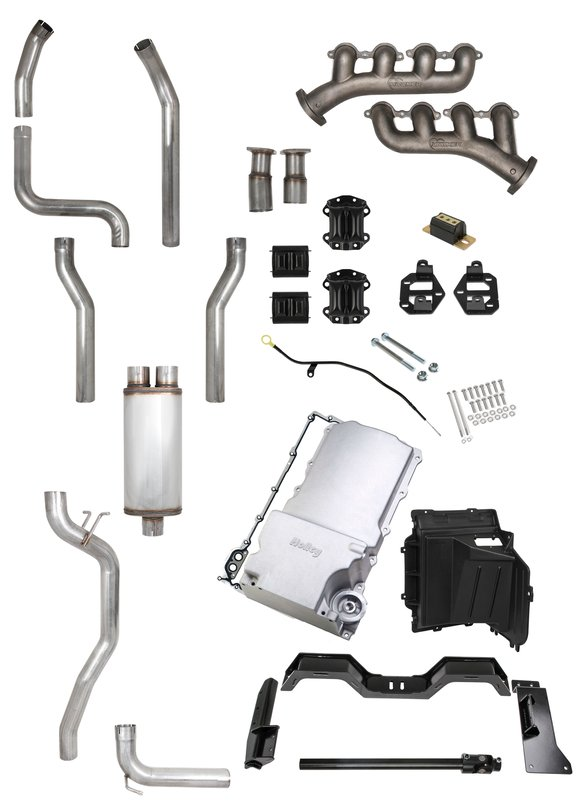 VK090127 - LEVEL 3 LS SWAP KIT - CAST IRON MANIFOLDS AND 3