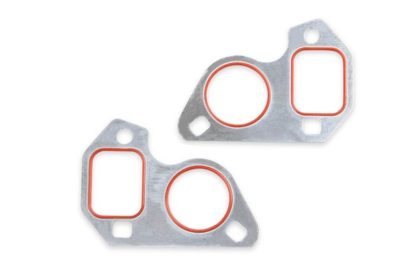 LS0022ERL - Earls Remote Mount Electric Water Pump Block Adapters – Pair – Fits GM LS Engines - additional Image