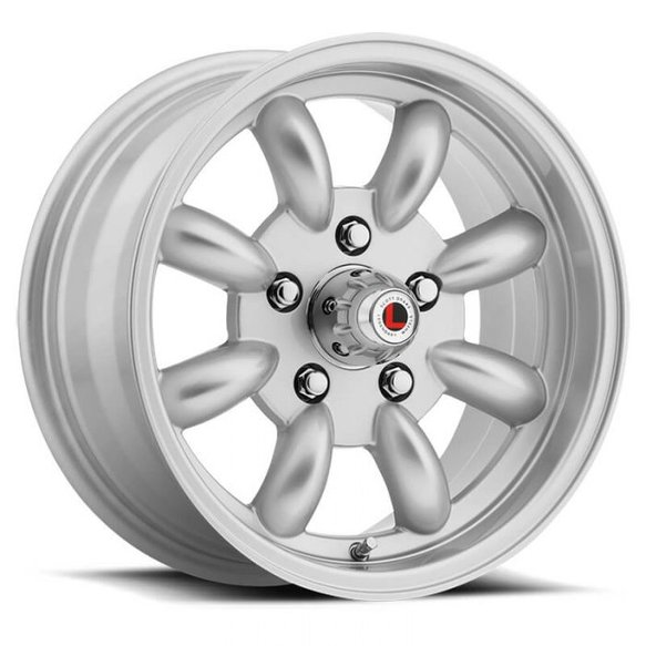 LW80-50754S - Legendary Wheels T/A Minilite - 15 x 7 in. - 5 x 4.5 - 4.25 BS - Silver Image