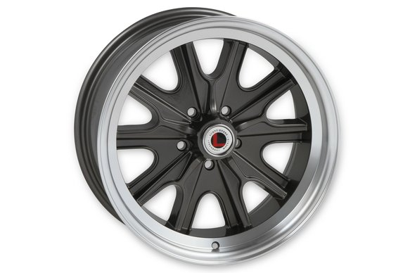 LW90-70754B - Legendary Wheels HB45 - 17 x 7 in. -  5 x 4.5 - 4.25 BS - Charcoal/Machined Image
