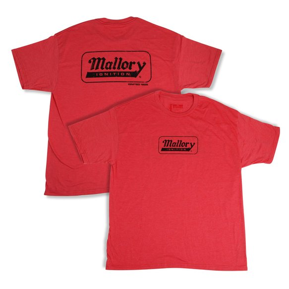 10067-SMMAL - Mallory Ignition Logo T-Shirt (Small) Image
