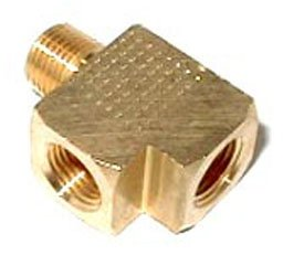 16775NOS - Brass Adapter T Fitting Image