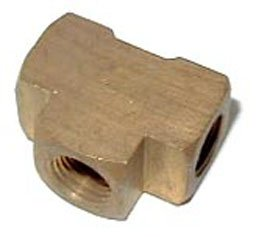 16776NOS - Brass Adapter T Fitting Image