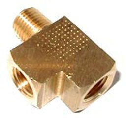 16777NOS - Brass Adapter T Fitting Image