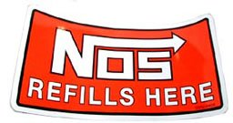 19202NOS - NOS Decal Image