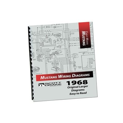 MP-4-P - Scott Drake 1968 PRO Wiring Diagram Manual (Large Format) Image