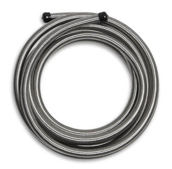 220008 - Mr. Gasket Stainless Steel Braided Hose 8 AN - 20 Feet Image