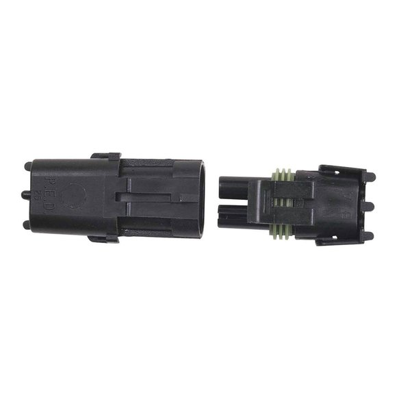 8173 - 2-Pin Weathertight Connector, 1 qty Image