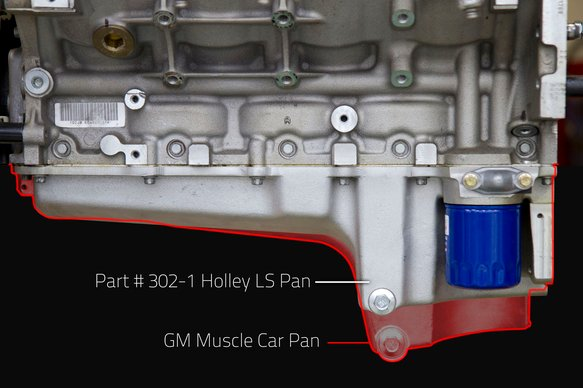 302-1 - GM LS Retro-fit Oil Pan - 1955-87 GM/Muscle Car/Classic Car/Trucks - additional Image