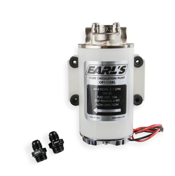 OP111ERL - Earls Electric Oil Pump – 12 VDC Image