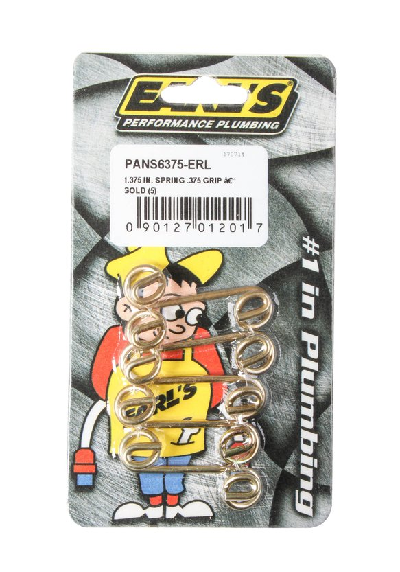 PANS6375-ERL - Earl's Quarter Turn Springs - additional Image