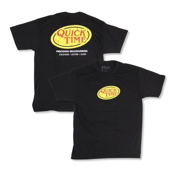 10071-SMQT - Quick Time Logo T-shirt (Small) Image