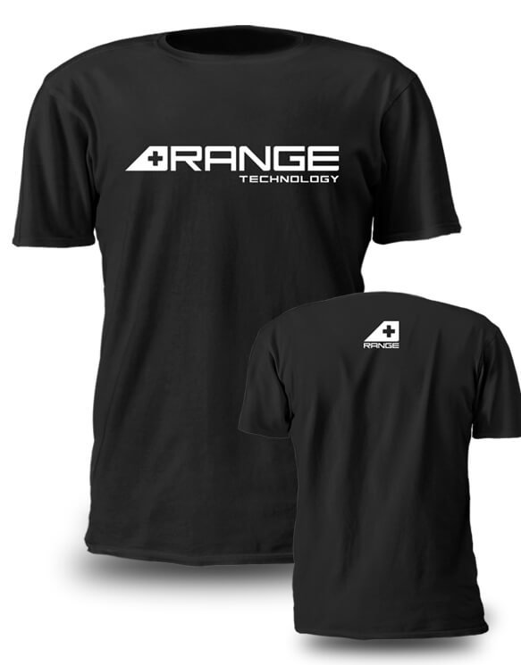 RA20A-03-S - Range Technology Black T-Shirt Image