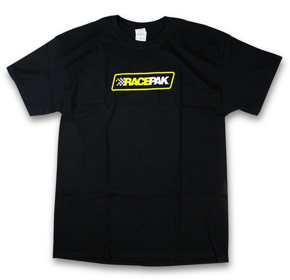 880-PM-MTBKM-L - Racepak Short Sleeve Racepak Shield Logo T-Shirt Image