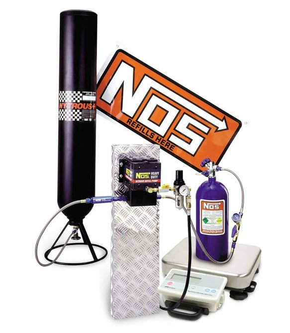 14254NOS - Nitrous Refill Pump Station with Scale Image