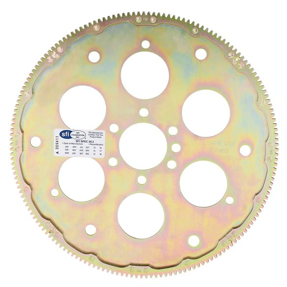 RM-802 - Quick Time Flexplate - GM - 168 Tooth - Modular Construction Racing Flexplate Image