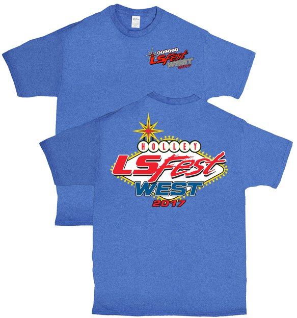 10102-4THOL - 2017 LS FEST WEST ROYAL HEATHER YOUTH TEE Image