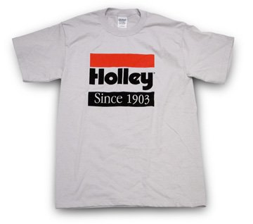 10001-MDHOL - LTS Gray Holley Since 1903 T-Shirt (Medium) Image
