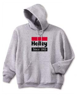 10002-MDHOL - LTS Holley Since 1903 Hooded Sweatshirt - Gray Image