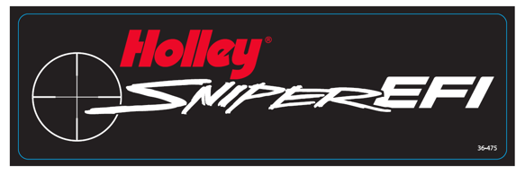 36-475 - Holley Sniper EFI Decal Image