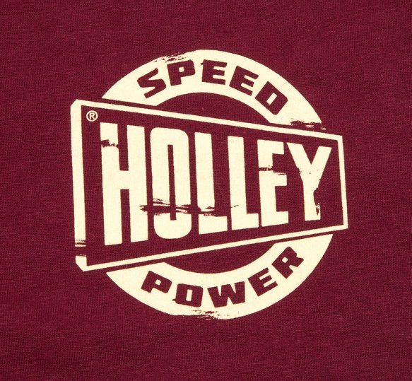 10130-LGHOL - Holley Speed Shop Long Sleeve Maroon Tee - additional Image