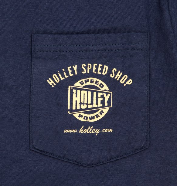 10132-XLHOL - Holley Speed Shop Navy Blue T-Shirt - additional Image