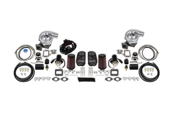 STS1004 - STS Turbo Rear Mount Multi Fit Twin Turbo Kit Image