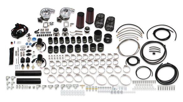 STS2002 - STS Turbo Remote Mount Twin Turbo System without tuner & fuel injectors (Standard Kit) - additional Image
