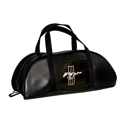 TB-FM-BK-E - Scott Drake 1964-73 Mustang Tote Bag (Large, Black with Emblem) Image