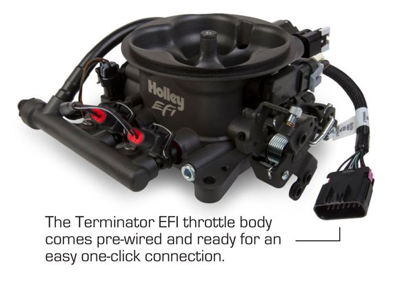terminatorcomesprewired holley efi 550 405 terminator efi 4bbl throttle body fuel Terminator Time Loop Diagram at webbmarketing.co