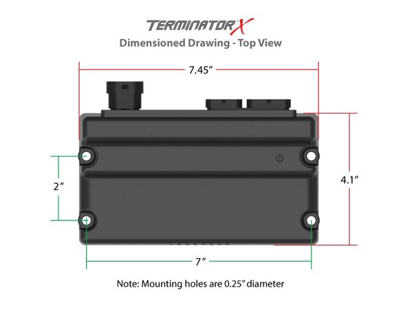 550-904 - Terminator X Early Truck 24x/1x LS MPFI Kit - additional Image