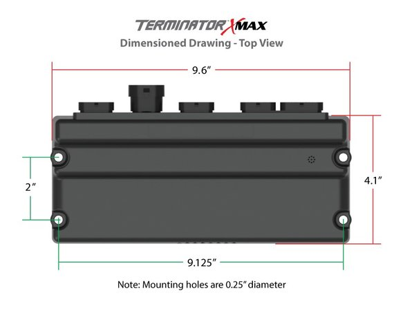 550-917 - Terminator X Max Early Truck 24x/1x LS MPFI Kit with Transmission Control - additional Image