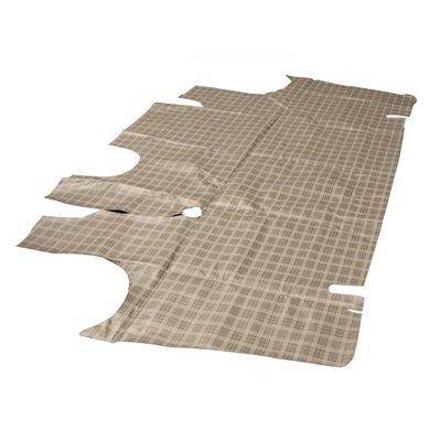 TM-FF-4D-66-P - Scott Drake 66-70 Falcon 4 Door Trunk Mat (Plaid) Image