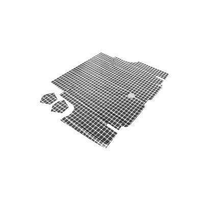 TM-FM-FB-65-P - Scott Drake 65-66 Fastback Trunk Mat (Plaid) Image