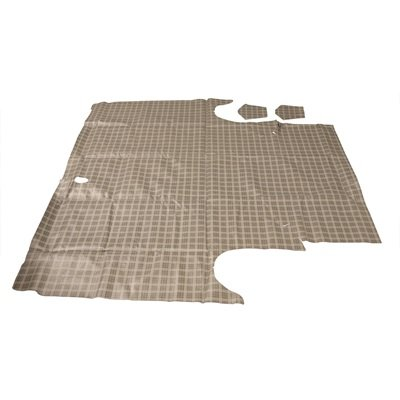 TM-FO-2D-64-P - Scott Drake 64-65 Comet Trunk Mat (Plaid) Image
