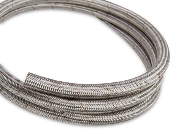 662206ERL - Earls Ultra Flex Hose Size -6 Stainless Steel Braid - 20 Ft Image