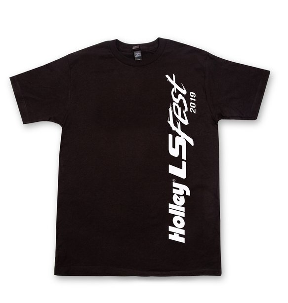 10196-MDHOL - 2019 LS FEST BLOCK PARTY SIDE LOGO TEE - BLACK Image