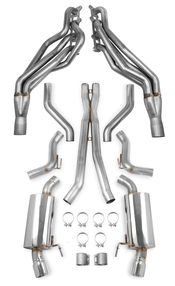 VK050001 - Hooker BlackHeart Long Tube Headers + Header-Back Exhaust Kit - Race only Image