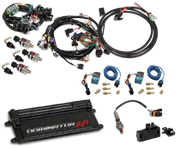 VK080018 - LS1 or LS6 (24x/1x) Dominator EFI Kit Image